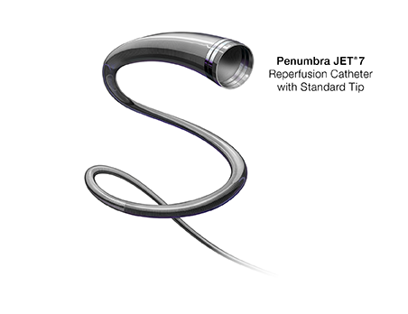 Penumbra JET<sup>®</sup> 7 Reperfusion Catheter with Standard Tip
